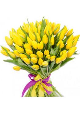 Тюльпан жёлтый