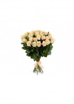 31 Кремово-розовая роза Талея (Talea) 40см