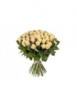 41 Кремово-розовая роза Талея (Talea) 40см