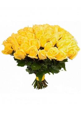 33 Жёлтых роз Пенни Лэйн (Penny Lane) 40см