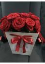 25 роз Ред Наоми в плайм-пакете