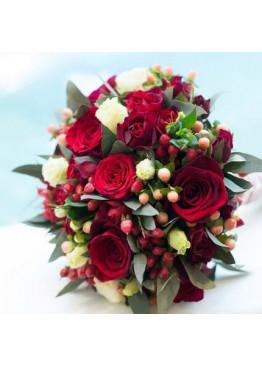 Cвадебный букет невесты №17