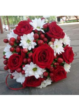 Cвадебный букет невесты №3